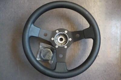271111 - black helm steering wheel