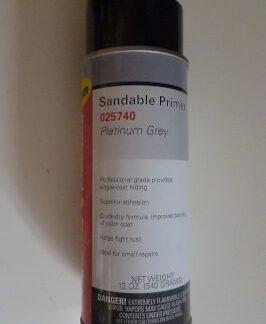 Paint sandable primer Platinum Grey
