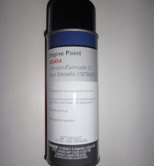 025454 Spray Paint Johnson/Evinrude Blue Metallic 1978-87