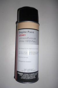 025461 Spray Paint Johnson/Evinrude White 1972-pres